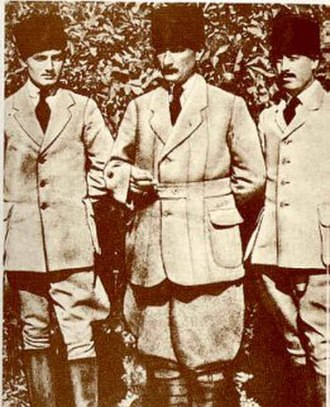Turkish National Movement - Mustafa Kemal Pasha during the Erzurum Congress.
