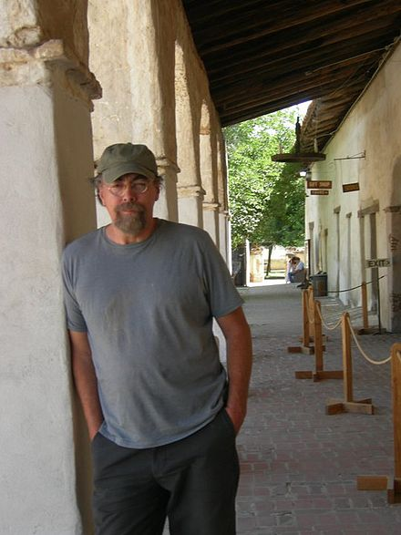 Ken Westerfield at the Mission San Miguel Arcangel, San Miguel, CA. 2009. Ken Westerfield Today.jpg