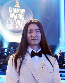 Kento Masuda at 57th Grammy Awards Ceremony.jpg