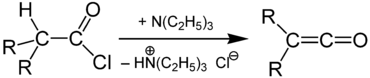Synthesis of Ketene