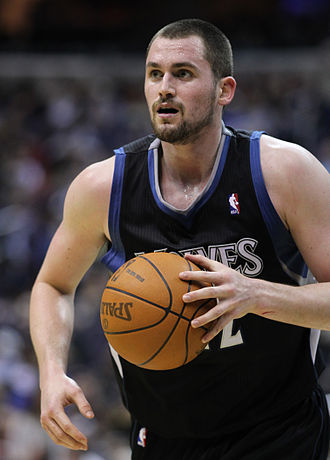 2008 NBA draft - Kevin Love was selected fifth by the Memphis Grizzlies and traded to the Minnesota Timberwolves.