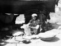 Khalil Raad, Bedouins making flatbread.png