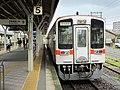 Kiha 11 303 at Matsusaka Station.jpg