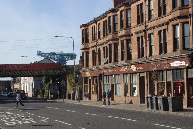 Kilbowie Road, Clydebank - geograph.org.uk - 731900
