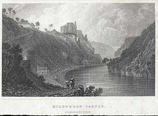 Kilgerran Castle, Pembrokeshire