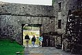 Kinvarra - Dunguaire Castle entrance from interior - geograph.org.uk - 1613929.jpg