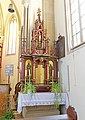 Kirche 1341 Seitenaltar rechts in A-2130 Siebenhirten.jpg