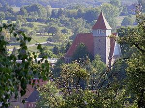 Lautertal, Hesse - Church in Gadernheim
