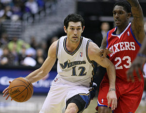 Kirk Hinrich - Kirk Hinrich during his tenure with the Wizards