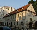 Klášter trinitářů - areál fary s kostelem Nejsv. Trojice (Nové Město), Praha 1, Spálená 6, Nové Město - Fara.JPG