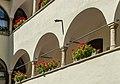 Klagenfurt Innere Stadt Wienergasse 10 Ossiacher Hof Arkadenhof 13082018 6161.jpg