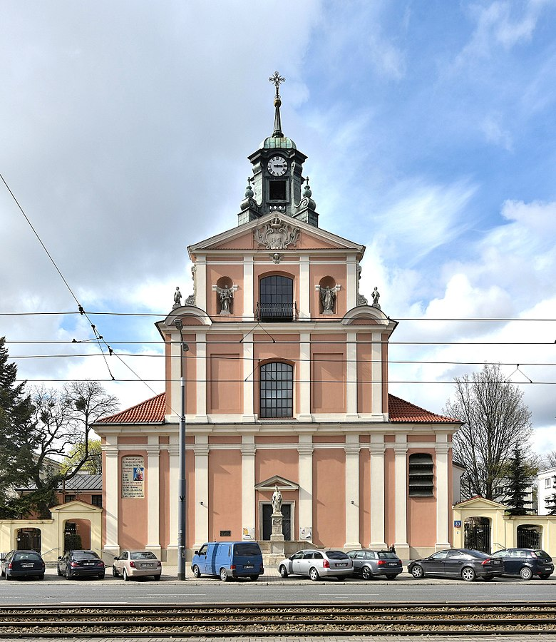 Church of the Nativity of the Blessed Virgin Mary, Warsaw