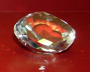 Kakatiya dynasty - A replica of the Koh-i-Noor diamond. The diamond was originally owned by the Kakatiya dynasty.
