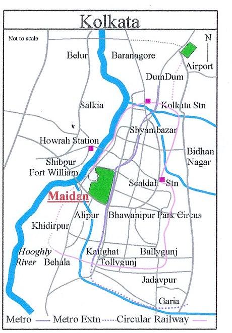 Maidan (Kolkata) - Wikiwand