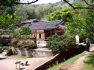 Seowon - Image: Korea Andong Dosan Seowon 3015 06