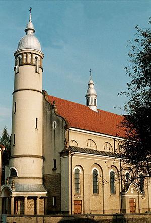 Frysztak - Church in Frysztak