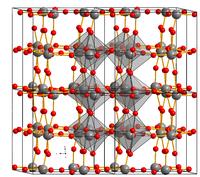 Kristallstruktur Wolfram(VI)-oxid