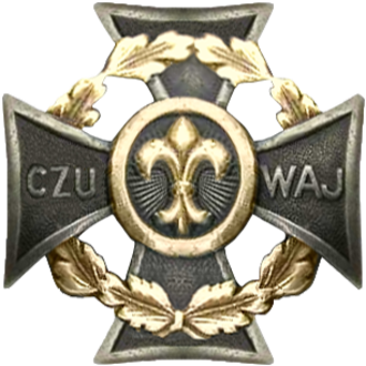 Scouting and Guiding in Poland - Scouting Cross (Krzyż Harcerski) - the emblem of Polish Scouting