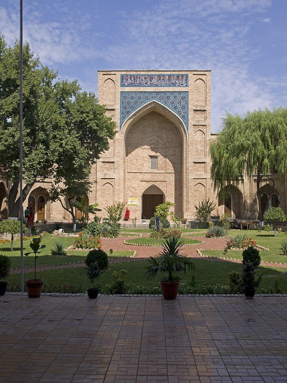 Kukeldash Madrasah inner yard