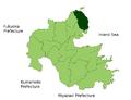 Kunisaki in Oita Prefecture.png