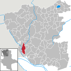 Location of Kunrau in Altmarkkreis Salzwedel district prior to its merger into Klötze