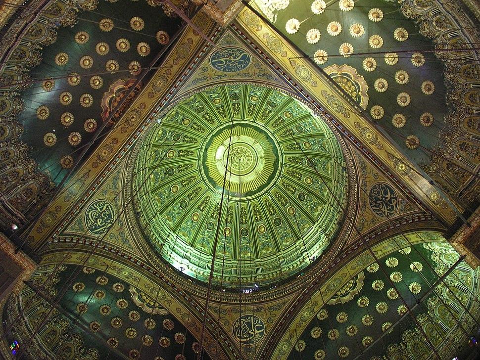 Kuppel Muhammad-Ali-Moschee