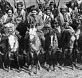 Kurdish Cavalry in the Caucasus Mountains. The New York Times, January 24, 1915.jpg