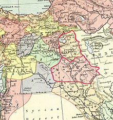 Kurdistan wikipedia the states outlined in red are two kurdish states named hakkiari and mosul in this 1902 map they are referred to as upper kurdistan and lower kurdistan sciox Image collections