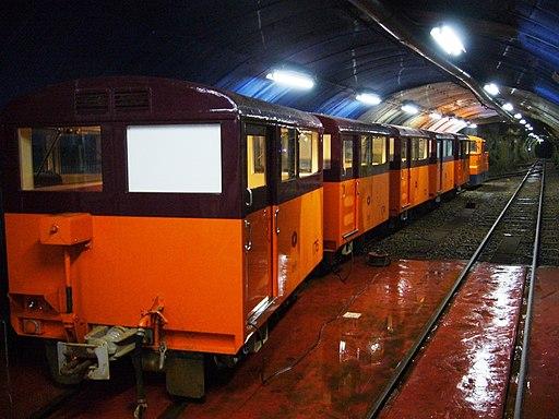 Kurobe Senyo Railway Train