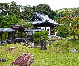 Buddhist temple in Higashiyama-ku, Kyoto, Japan