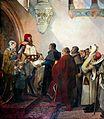 L'octroi de la charte de franchise aux habitants de Belfort par Renaud de Bourgogne en mai 1307.jpg