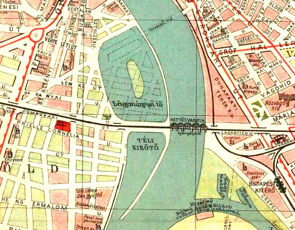budapest térkép 1930 File:Lágymányosi tó 1930 térkép.   Wikimedia Commons budapest térkép 1930