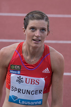 Léa Sprunger - Léa Sprunger at the 2012 Athletissima