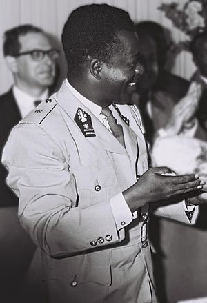 Léonard Mulamba - PM Léonard Mulamba, July 1966