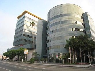 Los Angeles Film School - Main Sunset Boulevard building of the Los Angeles Film School.