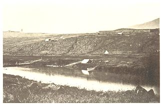 Der Buffalo River bei Rorke's Drift (1882)