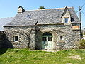La Feuillée Botbian Maison en schistes.JPG