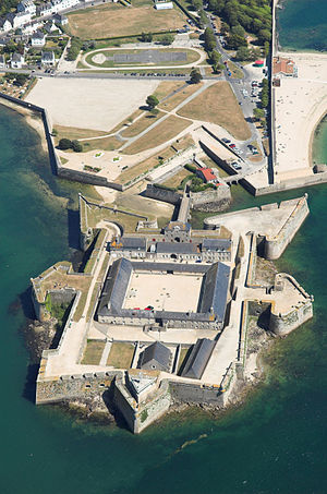 Dumont de Montigny - Port-Louis's citadel