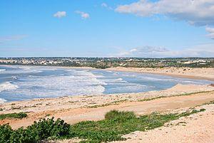Sampieri - Image: La spiaggia di Sampieri