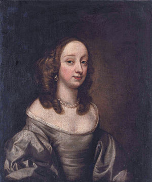Richard Vaughan, 2nd Earl of Carbery - 3rd wife: Lady Alice Egerton (1619-1689), circle of John Hayls