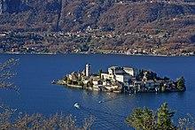 Il Lago d'Orta e l'Isola di San Giulio.