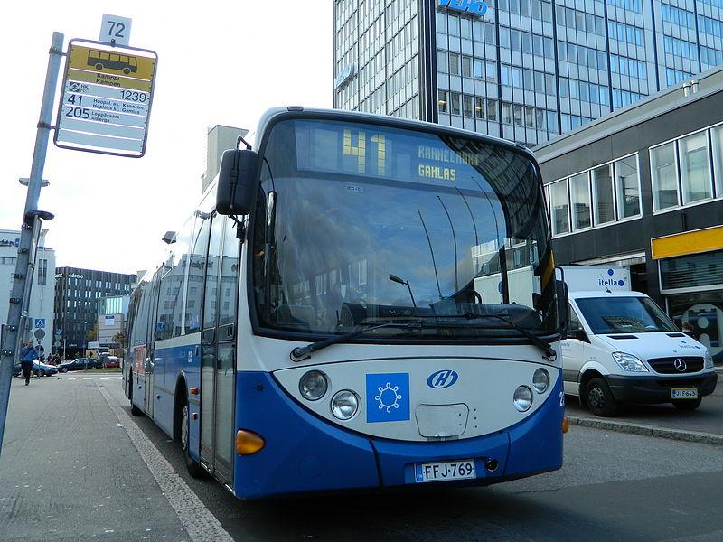 Bussi Lahti Helsinki