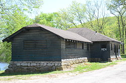 Lake Leatherwood Park Historic District, Office.JPG