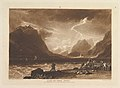 Lake of Thun, Swiss (Liber Studiorum, part III, plate 15) MET DP821378.jpg