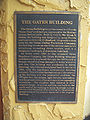 Lakeland Oates Building plaque01.jpg