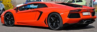 Lamborghini Aventador - Lamborghini Aventador LP700-4