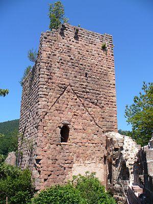 Château du Landsberg - Image: Landsberg bergfried
