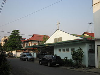 Christianity in Laos - Protestant Church, Haiphong Road, Vientiane.