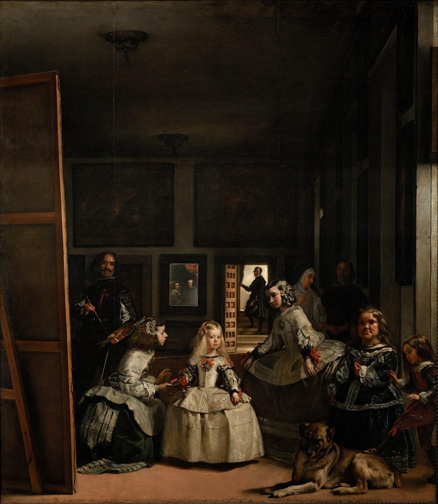 Las Meninas  by Diego Vel  225 zquez  from Prado in Google Earth jpgVelazquez
