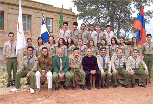 Scouting and Guiding in Cyprus - Last photo of the Melkonian Educational Institute Scouts (2006)
